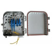 Buy cheap Wall and pole mountable FTTH Solution , High impact plastic FTTH Distribution Box product