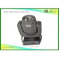 Buy cheap Touch Screen Sharpy Moving Head Disco Lights , Christmas Dj Moving Head Lights 16 Prism from wholesalers