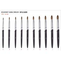 Buy cheap Durable Painting Nail Art Brushes kolinsky acrylic nail brushes from wholesalers