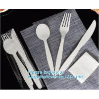 Buy cheap Biodegradable disposable cutlery eco friendly plastic CPLA cutlery,Disposable Biodegradable Corn Starch Cutlery/Spoon from wholesalers