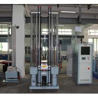 Buy cheap Free Drop Type Mechanical Shock Test Machine with Load 35kg , 300 x 300 mm Table from wholesalers
