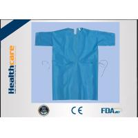 Buy cheap Free Sample Disposable Isolation Gowns Lightweight Non Woven Gown With Elastic Cuff from wholesalers