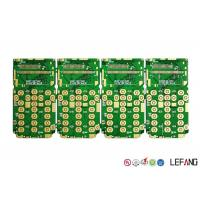 Buy cheap ASIC Quick Turn PCB Fabrication 1 OZ Copper Thickness With Immersion Gold product