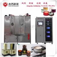 Buy cheap Vacuum Arc Ion Plating Machine Zinc Alloy For Glass Candle Holder Decoration from wholesalers