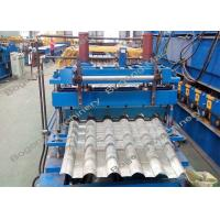 Buy cheap Automatic Roof Tile Machine , Metal Roof Tile Manufacturing Machine from wholesalers