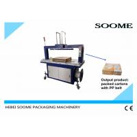 Buy cheap High Capacity Carton Strapping Machine , PP Belt Corrugated Boxe Baler from wholesalers