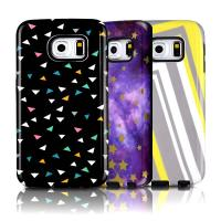 Buy cheap Plastic Combo Layer TPU & Hard PC Shockproof Case For Galaxy S6 Edge With Dust Plug from wholesalers