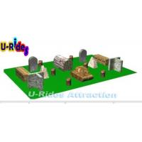 Buy cheap 20 Pieces Inflatable Paintball Field / Tactical Inflatable Paintball Arena For Kid from wholesalers