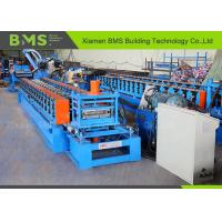 Buy cheap Storage Shelf Roll Forming Machine , Roll Forming Equipment With Schneider PLC product