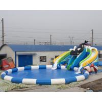 Buy cheap Best price summer fun kids games killer whale design inflatable water park with free air blower from wholesalers