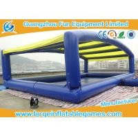 Buy cheap Plato PVC Inflatable Water Pool With Removable Inflatable Tent , CE Certification 10*6m from wholesalers