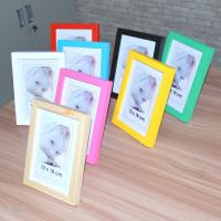 Buy cheap Hot sale solid wood photo frame with different color from wholesalers
