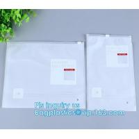 Buy cheap PVC Zipper Slider Bag For Travelling Grocery Packaging, slider zipper pvc packing documents bags, Women Waterproof Cosme from wholesalers