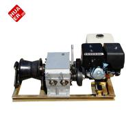Buy cheap 3t gasoline engine powered winch used for the cable pulling from wholesalers