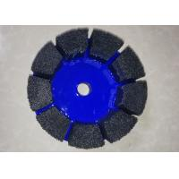 Buy cheap Abrasive Disc Segment CNC Deburring Brushes For Limestone Slate Surface Finish from wholesalers