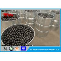 Buy cheap Industrial High Hardness HRC 58-64 Forged grinding media balls for ball mill from wholesalers
