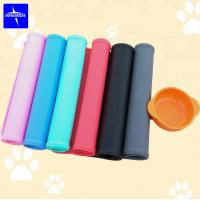 Buy cheap Pet Bowl Mat Dog/Cat Feeding Waterproof Silicone Feeder Placemat from wholesalers