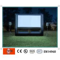 Buy cheap Fire Retardant amazing inflatable movie screens / inflatable projection screen for outdoor from wholesalers