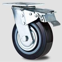 Buy cheap Heavy duty caster ,100mm to 200mm,double look caster,Rolling castor wheel from wholesalers
