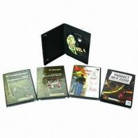 Buy cheap DVD Replication with Black Single DVD Case, Colorful Cover Insert, Shrink Wrapped Packaging from wholesalers