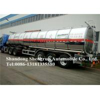 Buy cheap Professional Fuel Tanker Trailer , 50000 Liters Diesel Tank Trailer from wholesalers