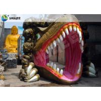 Buy cheap Dinosaur Designed Cabin 5D Cinema Equipment With Comfortable Chairs product