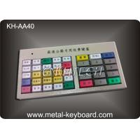 IP65 Waterproof Stainless Steel Keyboard with 40 keys for Highway toll Kiosk Machine