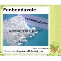 Buy cheap Fenbendazole Veterinary Medical Feed Additive Veterinary Drug Fenbendazole 43210-67-9 from wholesalers