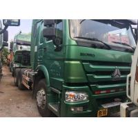 Buy cheap Euro 2 Euro 3 Second Hand Tractor Head , 10 Wheeler Used HOWO Trucks With WD Series Engine from wholesalers