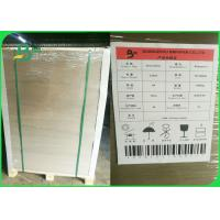 Buy cheap 1mm 1.5mm 2mm Grey Chipboard Paper Sheets Black Laminated FSC Grey Board from wholesalers