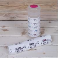 Buy cheap Microfiber printed cleaning cloth with PP tube packing product