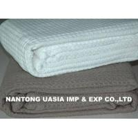 Buy cheap 100% Cotton Waffle Thermal Blankets from wholesalers