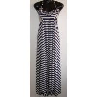 Buy cheap Long Ladies / Womens Sexy Dress With Yarn Stripe Fabric from wholesalers