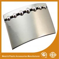 Buy cheap Personal Plate Stainless Steel Custom Belt Buckles With Peal Nickle Color from wholesalers