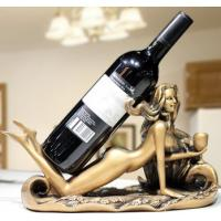 Buy cheap Beauty artistic wine rack antique ornaments room decoration from wholesalers