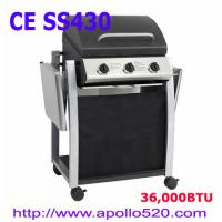 Buy cheap High Quality BBQ Grill Cart 3burners from wholesalers