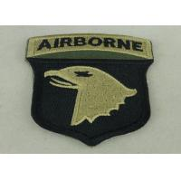 Buy cheap Air Borne Custom Embroidered Patch Cotton Printed Sew On Patches from wholesalers