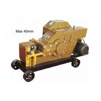 Buy cheap 40 MM Rebar Thread Rolling Machine For Splicing / Special Cutter from wholesalers