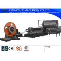 Buy cheap Auto Spiral Culvert Pipe Making Machine with 9 Forming Stations used in water conservancy project from wholesalers