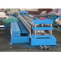 Buy cheap W Beam 3 Wave Highway Guardrail Forming Machine / Rolling Forming Making Machine from wholesalers