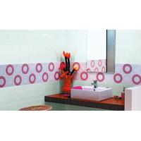Buy cheap custom made bathroom glass subway mosaic tile bathroom glass wall tile design from wholesalers
