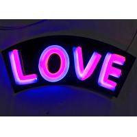 Buy cheap Indoor / Outdoor Personalized Neon Light Signs, Colorful Custom Neon Bar Signs from wholesalers