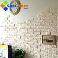Buy cheap 3D PE Foam Wallpaper Decor Natural Eco many bright colour available widely used in living room,wall, KTV etc from wholesalers
