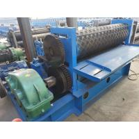 Buy cheap Skidproof Metal Tile Roll Forming Machine 100 Pieces / Min Working Speed from wholesalers
