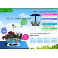 Buy cheap Mocle Farm smart garden Hydroponic technology as fish tank and table lamp from wholesalers