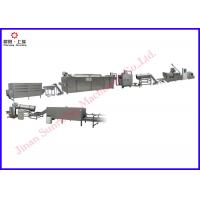 Buy cheap Corn Flakes Making Machine , Double Screw Extruder Corn Flakes Processing Line 150kg / Hr from wholesalers
