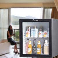 Buy cheap 60L absorption glass door minibar from wholesalers
