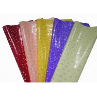 Buy cheap Printed translucent OPP wrapping paper teacher gift with Single Side 50cm * 70cm from wholesalers