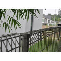 Buy cheap hot dipped galvanized BRC welded mesh panel fencing, roll top fence, decorative public park fence from wholesalers