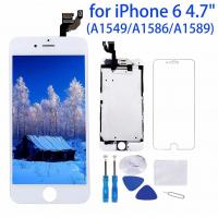 Buy cheap 1334x750P Iphone 6 White LCD Screen High Durability Capacitive Touch Type from wholesalers